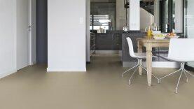 DLW Uni Walton Linoleum - warm concrete grey