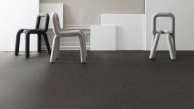 DLW Marmorette Linoleum - industrial grey 2,5 mm