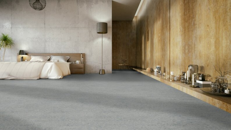 DLW Marmorette Linoleum - ice grey 2,0 mm