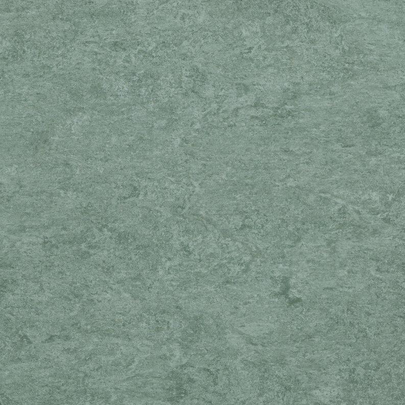 DLW Marmorette Linoleum - grey turquoise