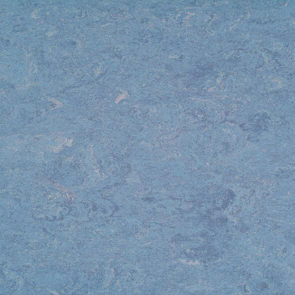 DLW Marmorette Linoleum - dusty blue LPX 2,5 mm