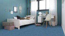 DLW Marmorette Linoleum - sky blue