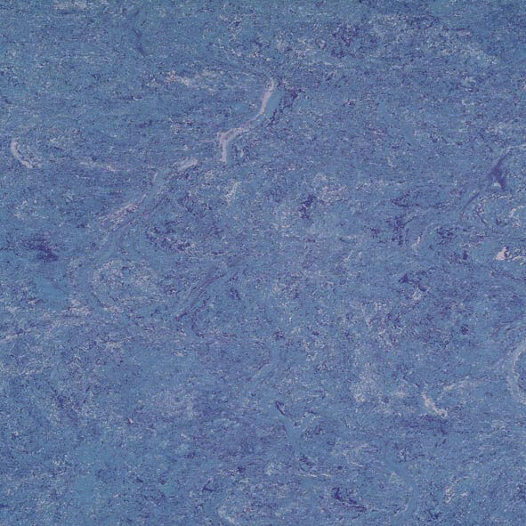 DLW Marmorette Linoleum - royal blue 2,5 mm