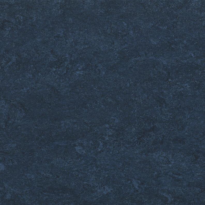 DLW Marmorette Linoleum - dark blue