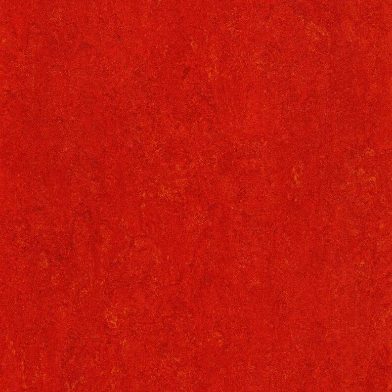DLW Marmorette Linoleum - chili red