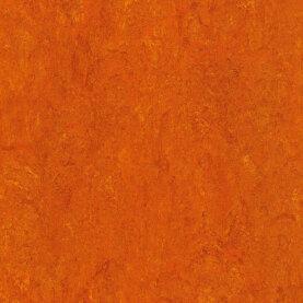 DLW Marmorette Linoleum - mandarin orange