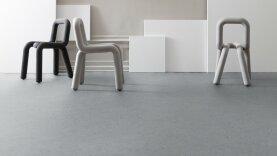 DLW Marmorette Linoleum - ash grey 2,0 mm