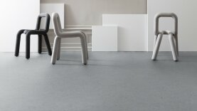 DLW Marmorette Linoleum - ash grey 2,5 mm