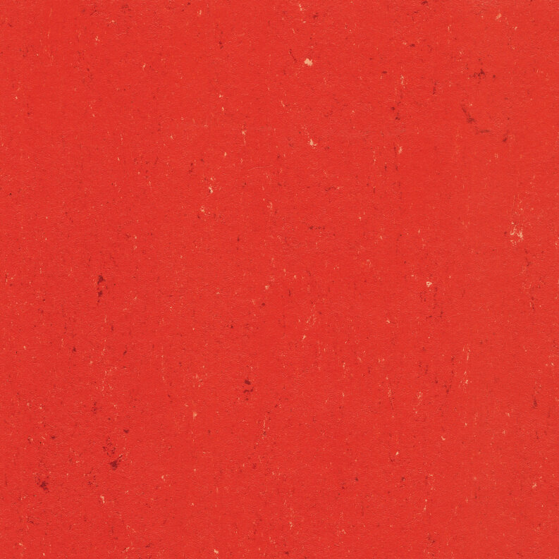 DLW Colorette Linoleum - power red LPX 2,5 mm