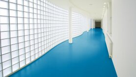 DLW Colorette Linoleum - poppy blue