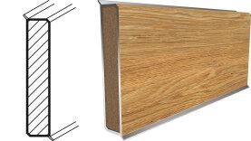 Project Floors Sockelleiste MDF 1,26 x 6,0 x 240 cm  - 3840