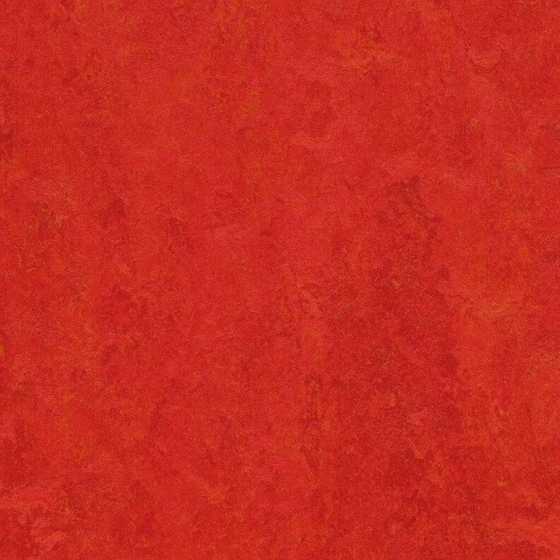 Forbo Marmoleum Fresco Linoleum - scarlet 2,5 mm
