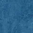 Forbo Marmoleum Modular Colour Linoleum - blue 50 x 50 cm Fliese