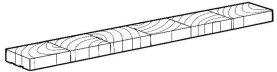 Holzpflaster WE Verlegeelement Kiefer