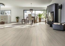Enia droplank click Salzburg Vinylplanken - oak white