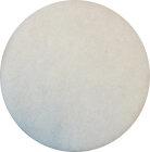 5 Pads - Padscheiben - Pad für Poliermaschine (13 Zoll) - weiß