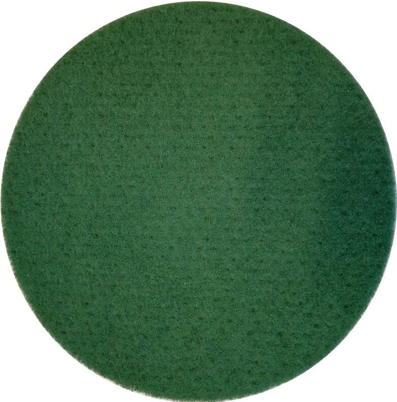 5 Pads - Padscheiben - Pad für Poliermaschine (13 Zoll) - grün