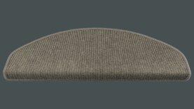 Tretford Interland Stufenmatten halbrund S 538 Aluminium