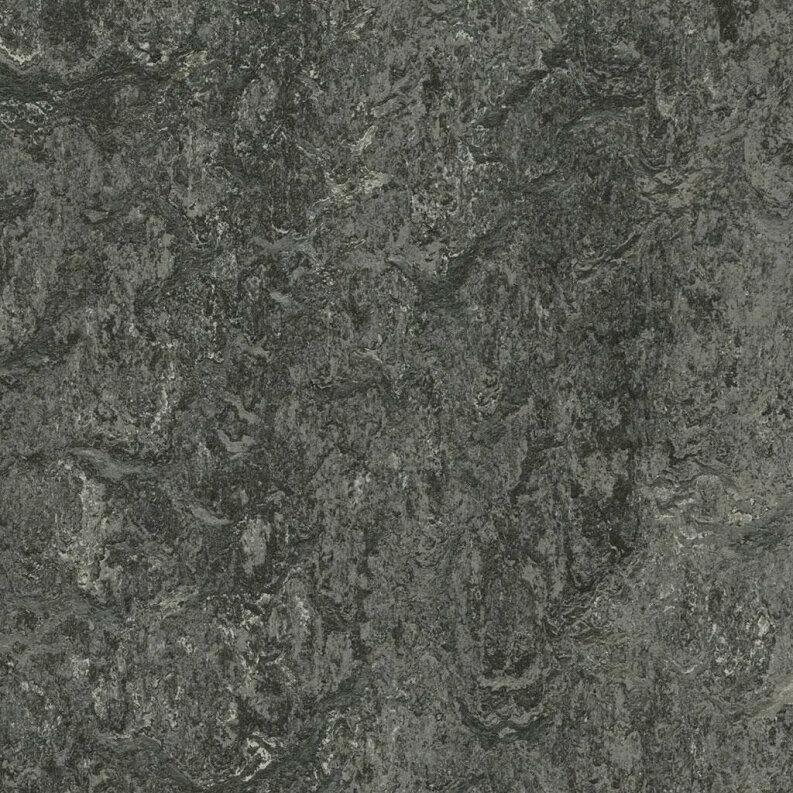 Forbo Marmoleum Modular Marble Linoleum - graphite 50 x 50 cm Fliese