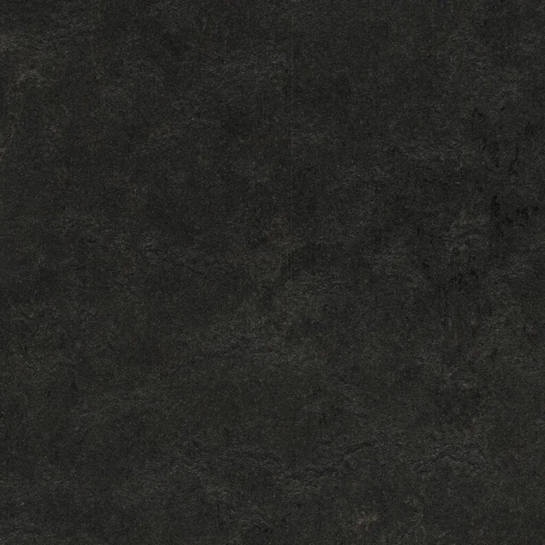 Forbo Marmoleum Modular Shade Linoleum - black hole 50 x 25 cm Fliese