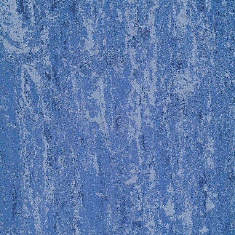 DLW Flooring Linodur Sport Linoleum - speckled blue 4,0 mm