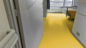 DLW Lino Art Star Linoleum - lemon yellow