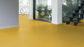 DLW Colorette Linoleum - banana yellow