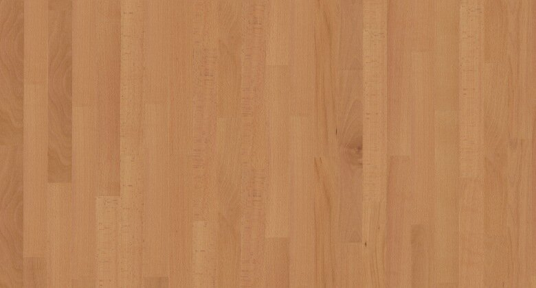 Massivparkett Stabparkett Buche gedämpft roh - Select/Natur 15 mm