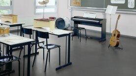 DLW Lino Art Urban Linoleum - zinc grey
