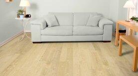 Landhausdiele massiv Esche - Eleganz geölt 20 x 130 x 500 - 2000 mm