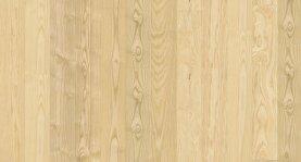 Landhausdiele massiv Esche - Eleganz gebürstet & geölt 15 x 130 x 400 - 2000 mm