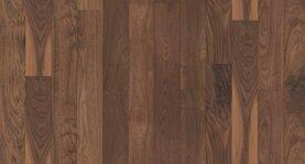 Landhausdiele massiv Nussbaum amerikanisch - Eleganz / Natur roh 20 x 140 x 500 - 2200 mm