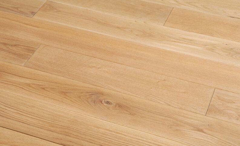 Landhausdiele massiv Eiche - Eleganz/Natur gebürstet & geölt 10 x 100 x 400 - 1200 mm