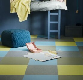 Forbo Marmoleum Click - spring buds 300 x 300 mm