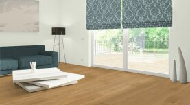 Landhausdiele massiv Eiche - Eleganz geölt 20 x 120 x 500 - 2000 mm