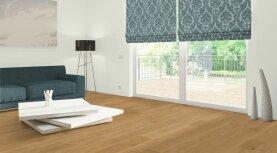 Landhausdiele massiv Eiche - Eleganz geölt 20 x 160 x 500 - 2000 mm