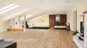 Landhausdiele massiv Eiche - Markant geölt 20 x 160 x 500 - 2000 mm