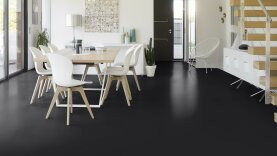 DLW Uni Walton Linoleum - black