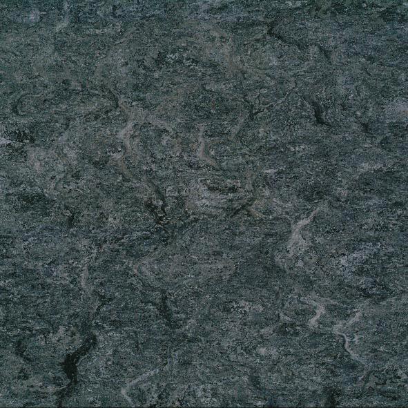 DLW Marmorette Linoleum - plumb grey
