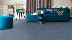 DLW Marmorette Linoleum - autumn blue