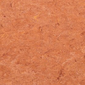DLW Marmorette Linoleum - sunset orange