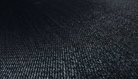 Bolon BKB Vinyl - Sisal Plain Black